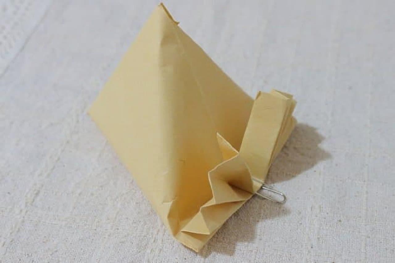 封筒を使ったラッピング