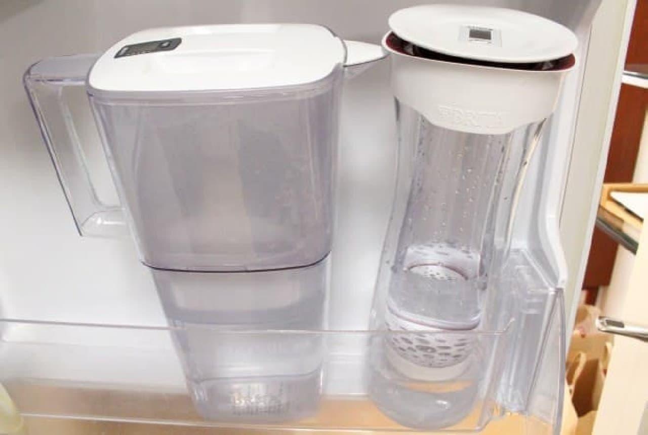 ブリタ浄水機能付きカラフェ「fill&serve」