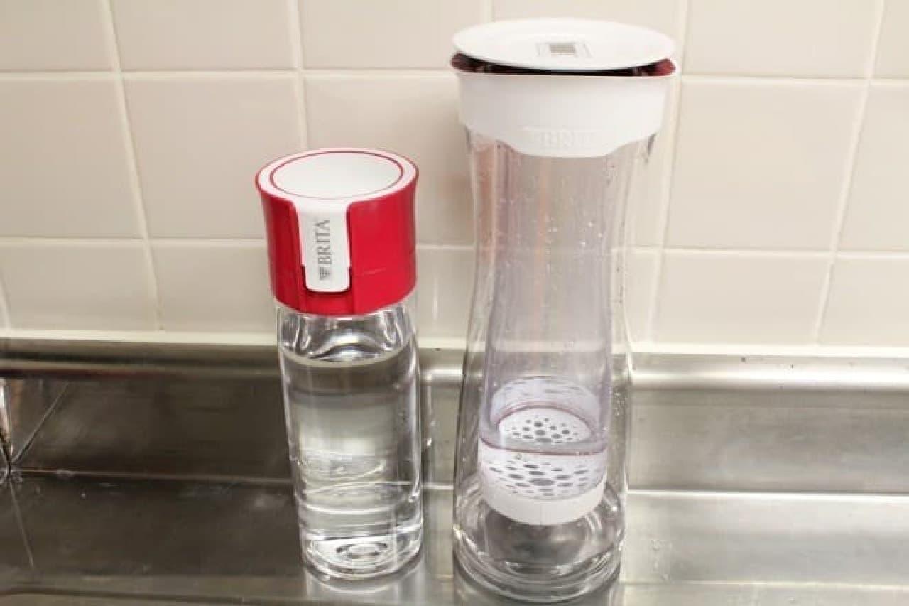 ブリタ浄水機能付きボトル「fill&go」