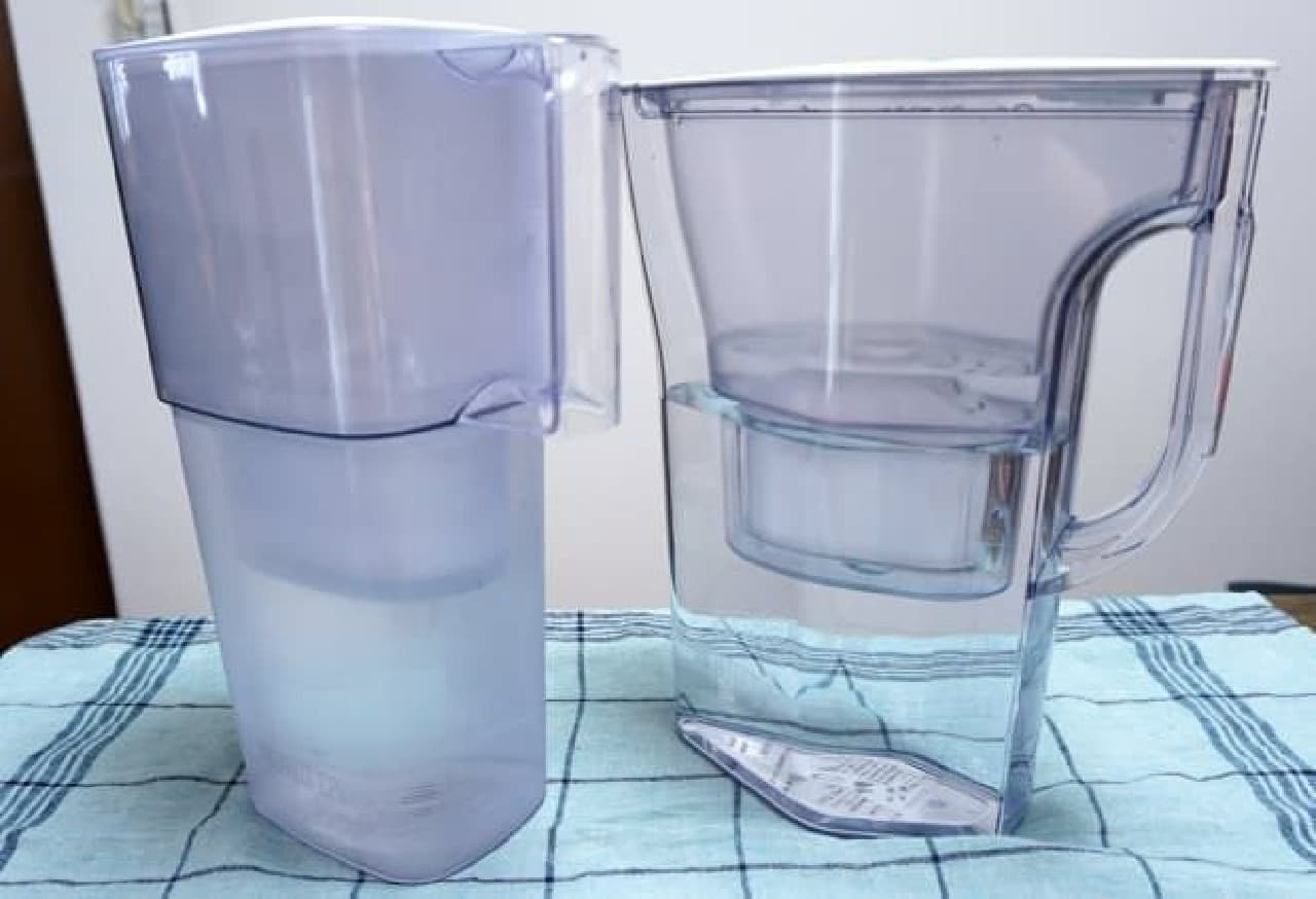 ブリタ浄水機能付きポット