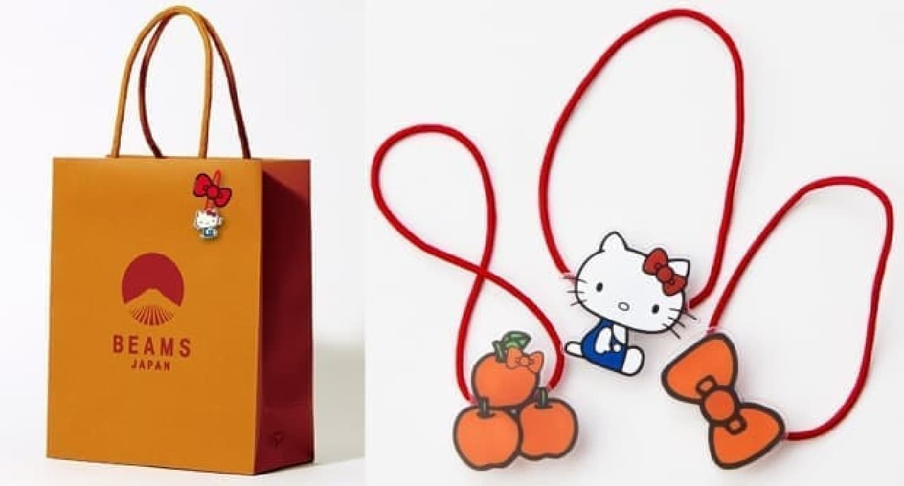 HELLO KITTY×BEAMS JAPANコラボアイテム
