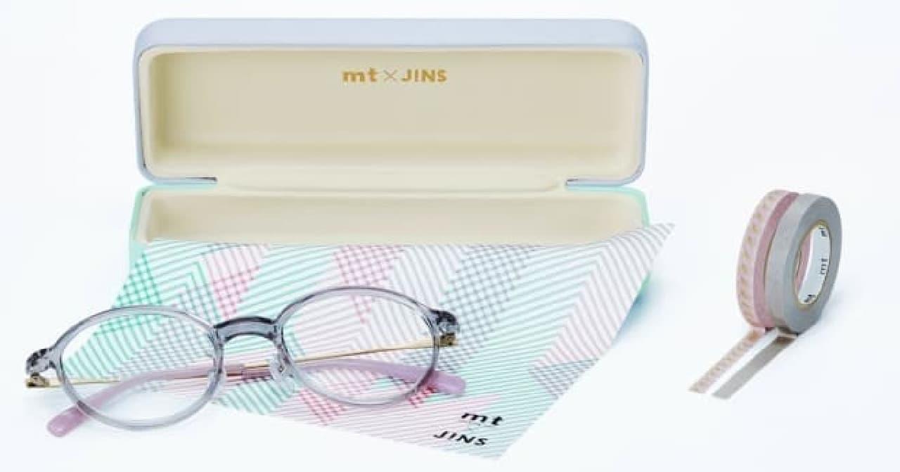 マステ付きメガネ「mt×JINS」第2弾