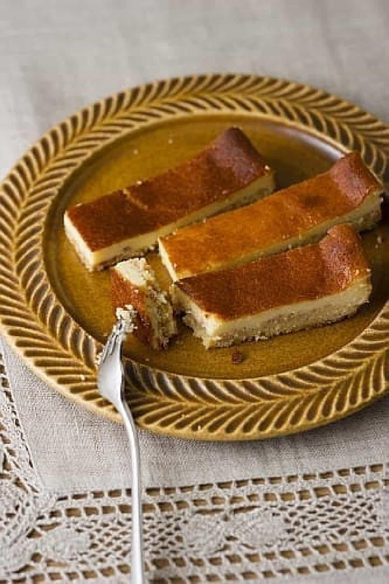 高野豆腐のチーズケーキ