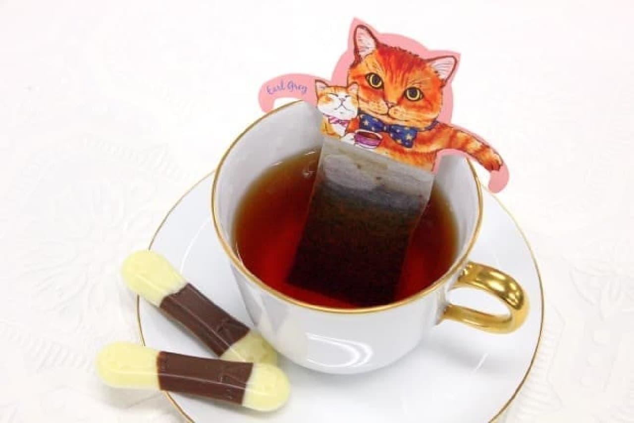 日本緑茶センター「キャットカフェ」
