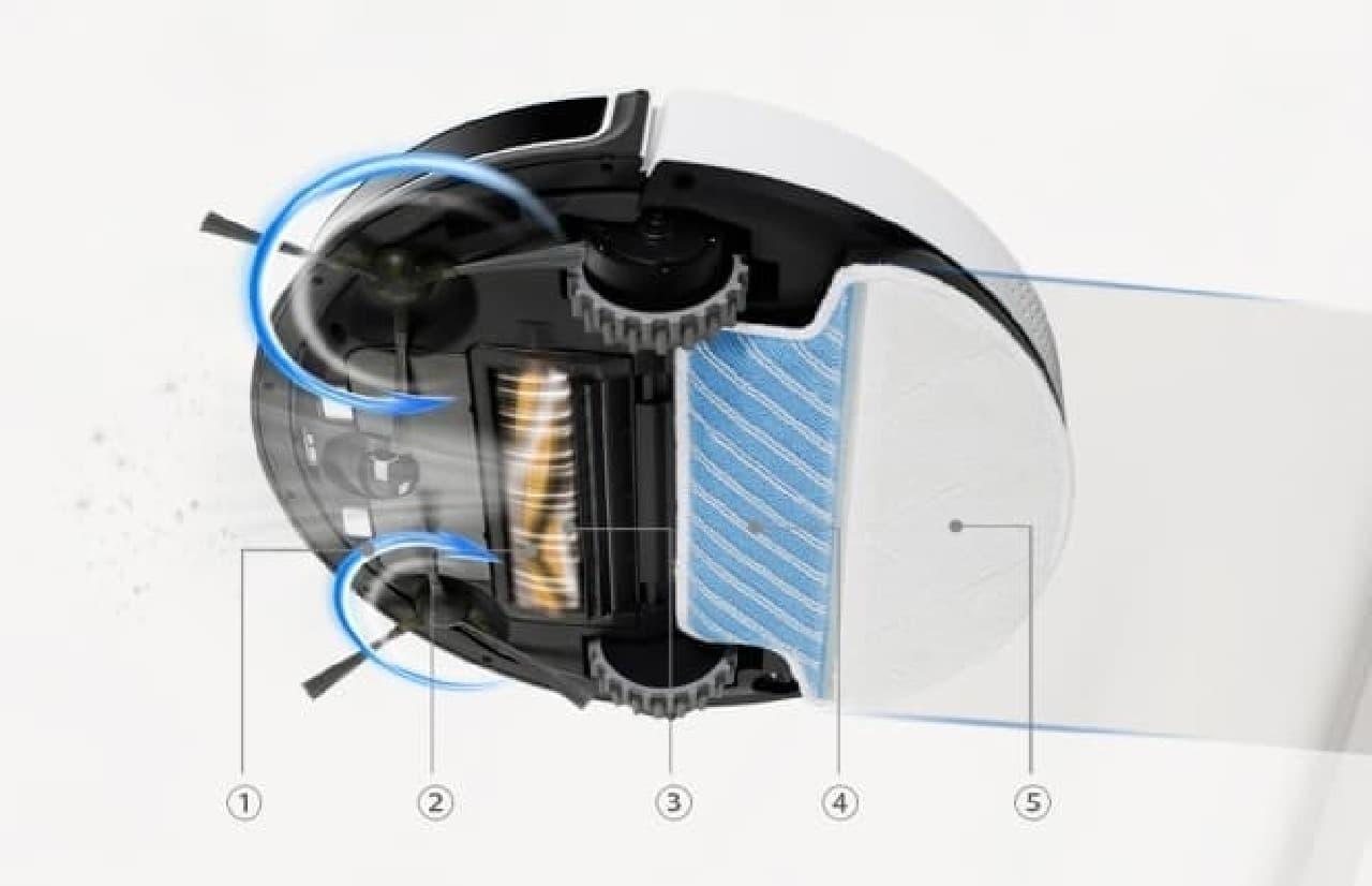 ECOVACSロボット掃除機「DEEBOT M88」