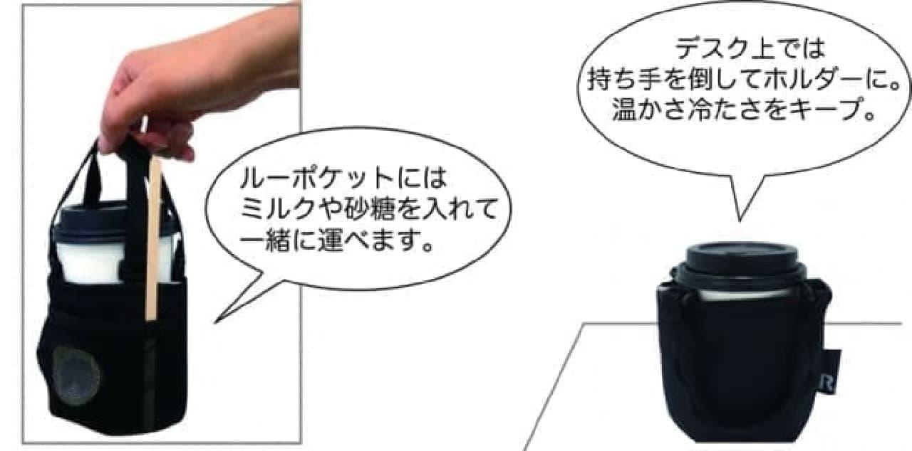 カフェドリンク用バッグ「ROOCUP(ルーカップ)」