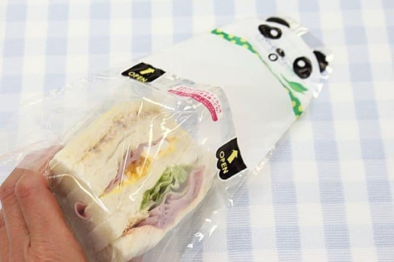 ダイソー「サンドイッチパック アニマル」