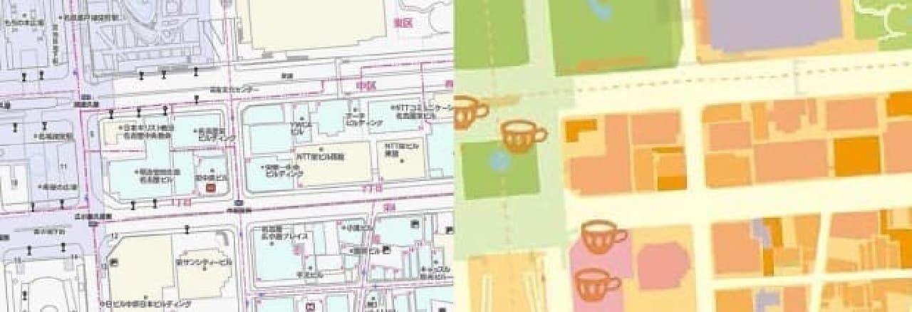 地図ステーショナリー「mati mati」名古屋・広島