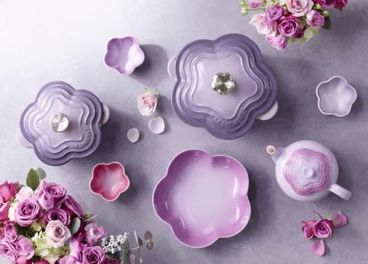 ル・クルーゼ「2017 Flower Collection (フラワーコレクション)」