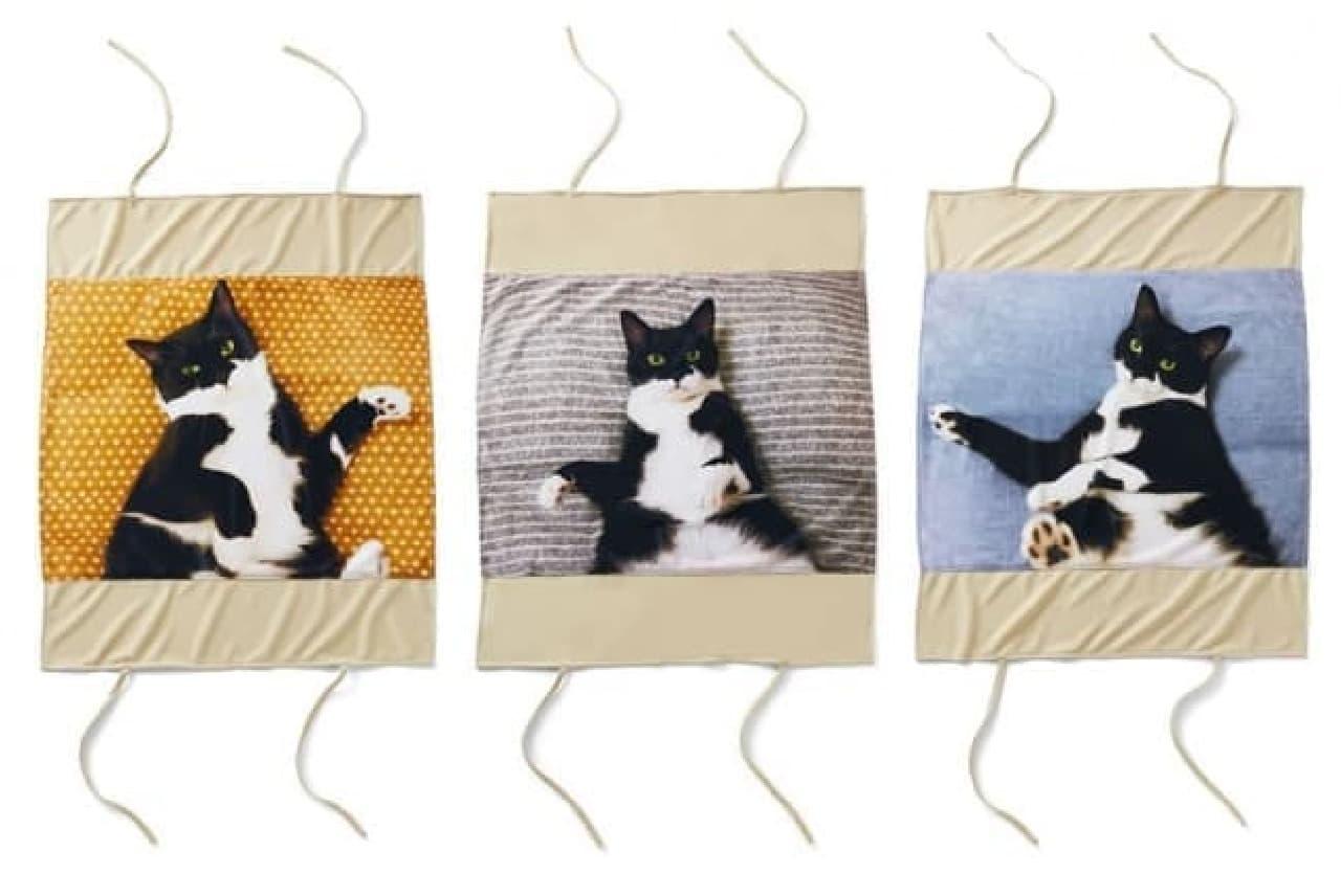 フェリシモ猫部「添い寝待ち猫 ギズモさんまくらカバー」