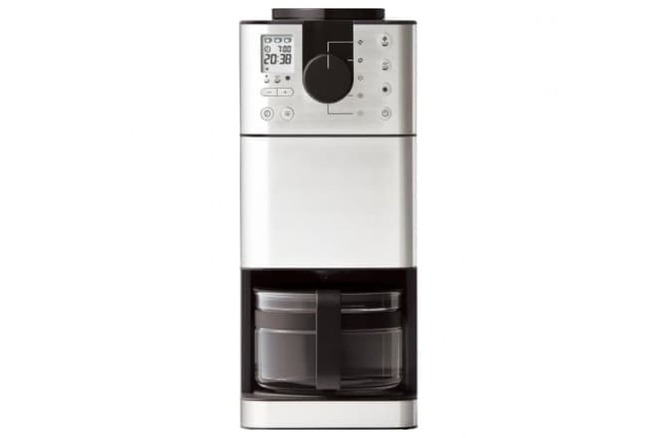 無印良品「豆から挽けるコーヒーメーカー」