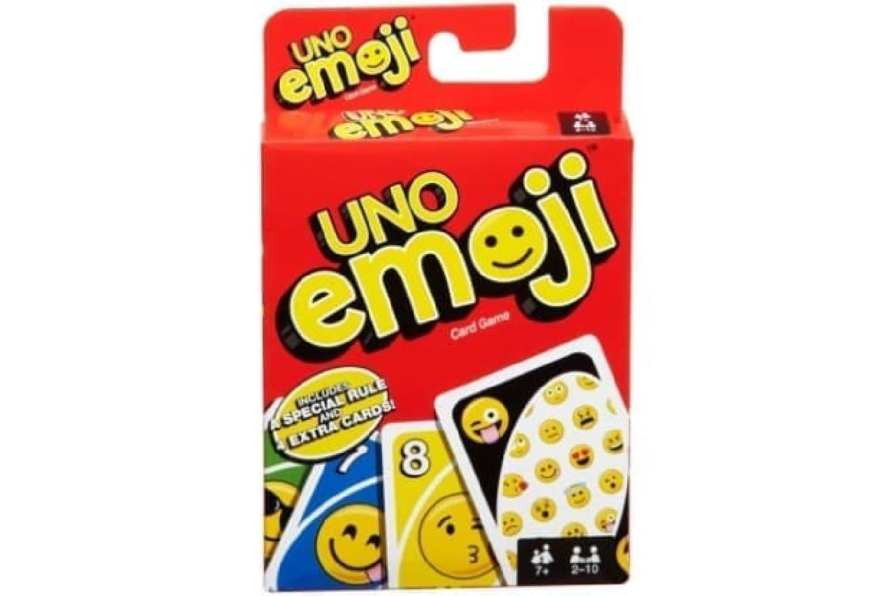 """""""emoji(絵文字)""""デザインした「ウノ えもじ」"""