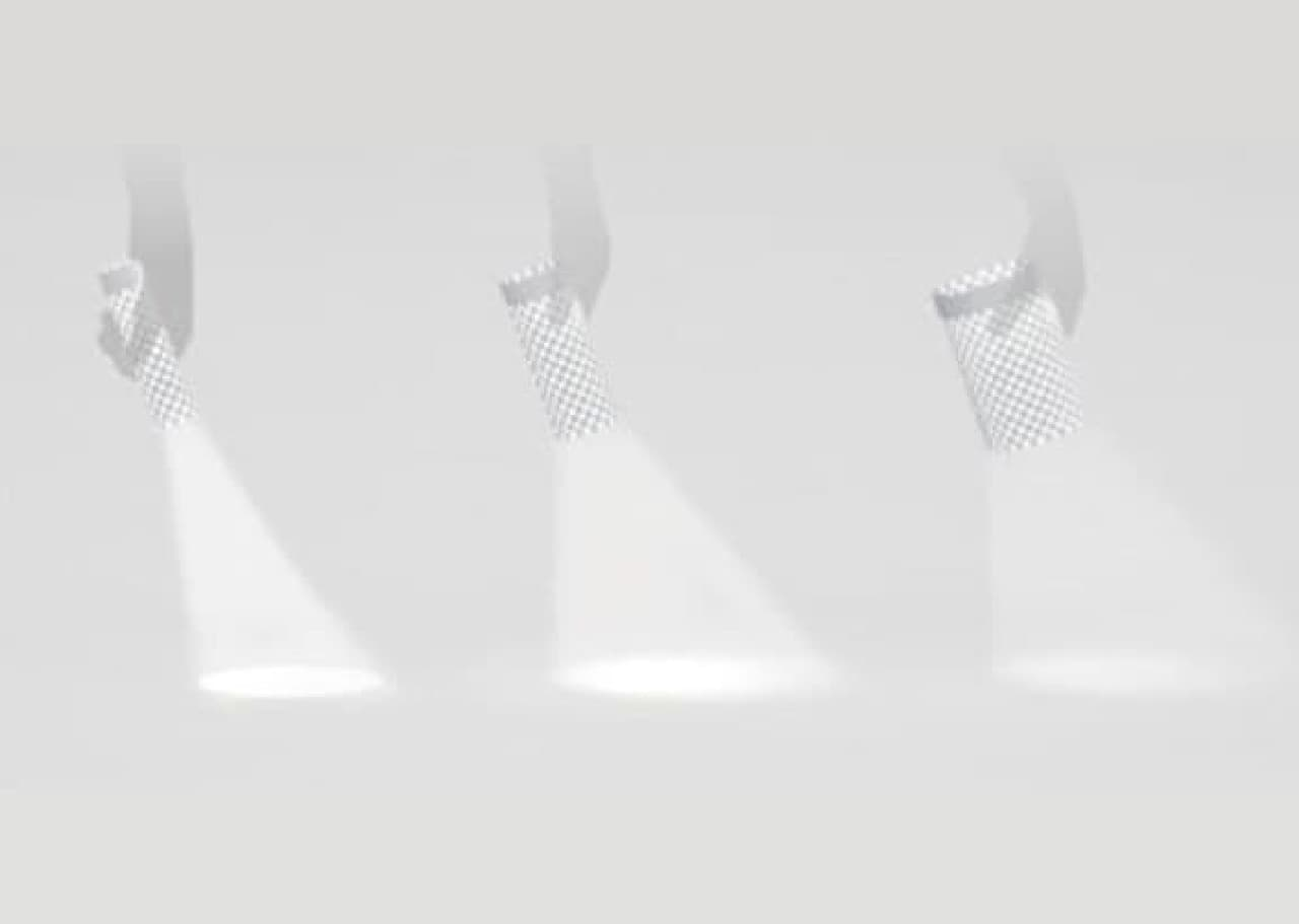 懐中電灯「PAPER TORCH(ペーパートーチ)」