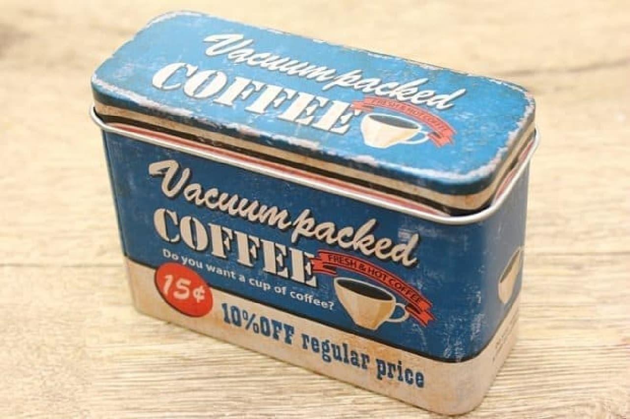 キャンドゥのレトロアメリカンな缶