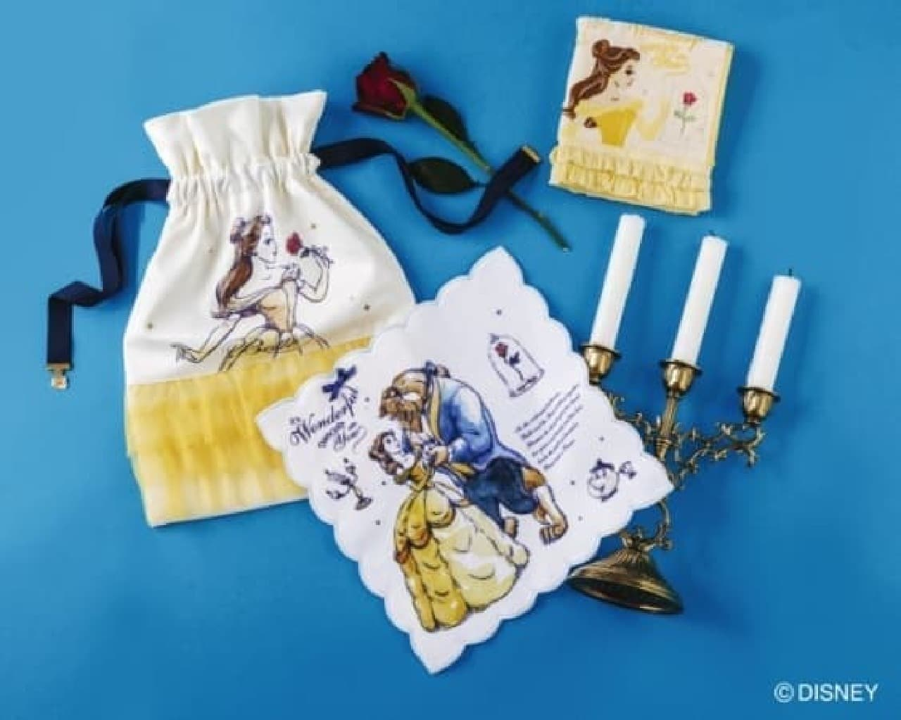 美女と野獣をテーマにした「DISNEY Collection Beauty and The Beast」