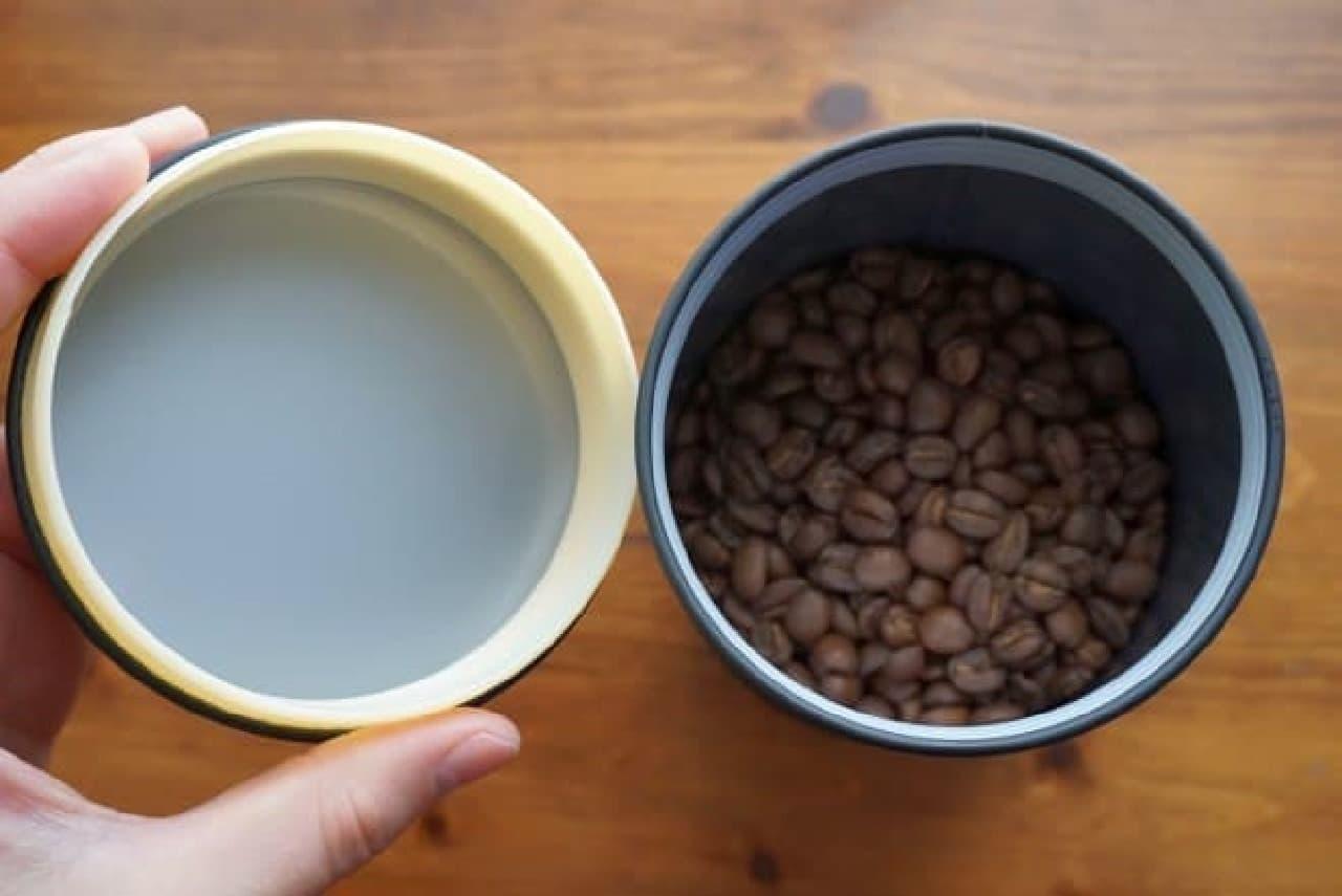 カルディコーヒーファームのキャニスター缶