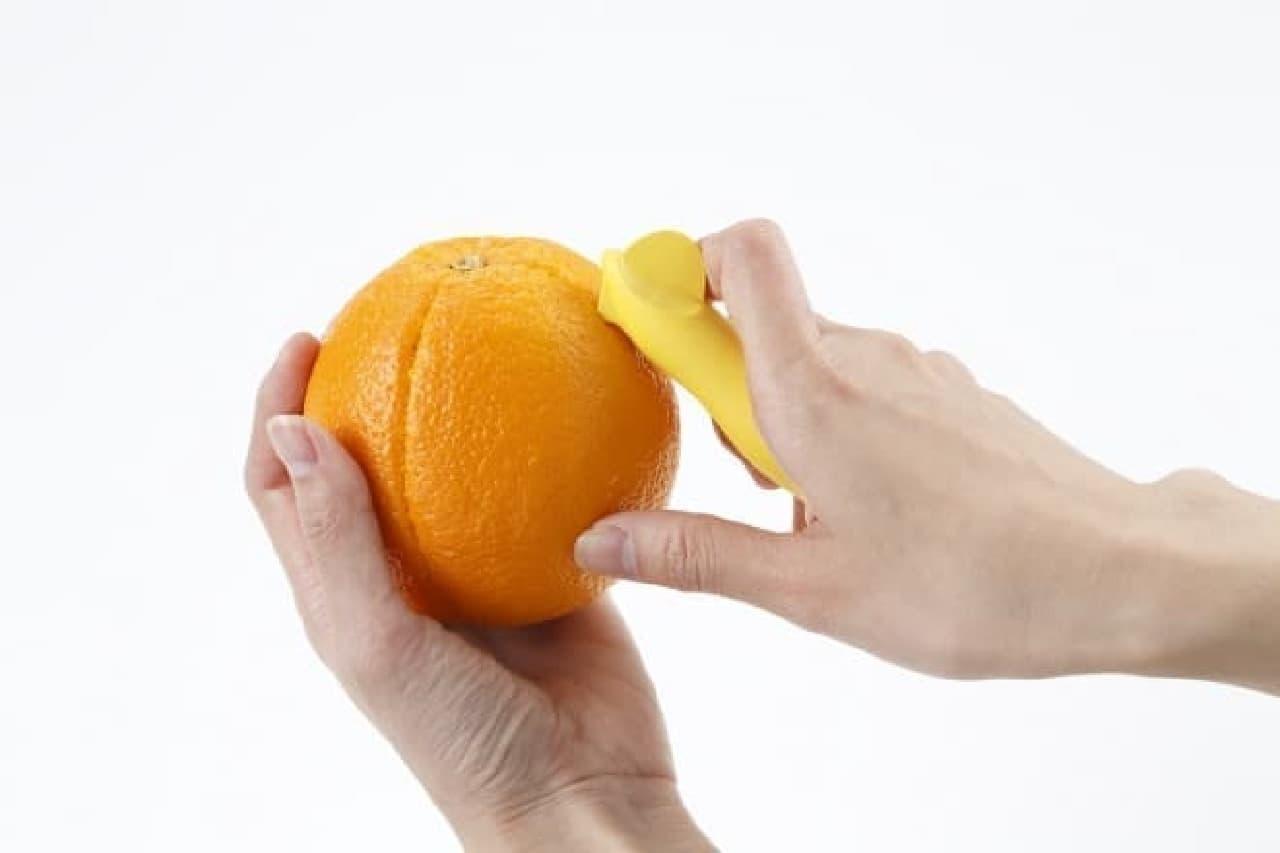 貝印「柑橘皮むき」