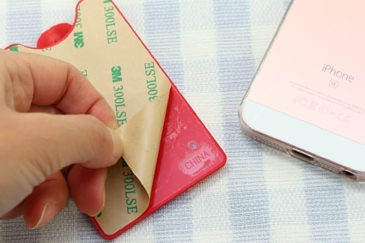 100円ショップ「カードスタンドケース」