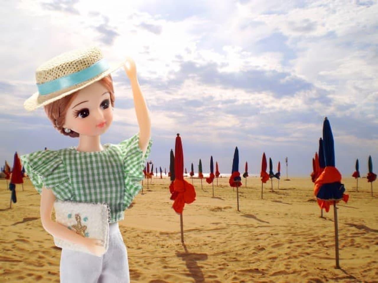 「フランス観光親善大使」に就任したリカちゃん