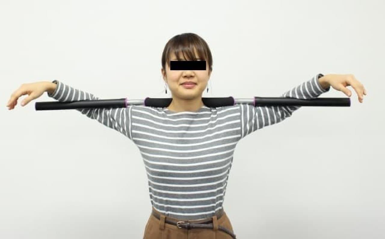 アイリスオーヤマ「体幹ストレッチ コアトレーナー」