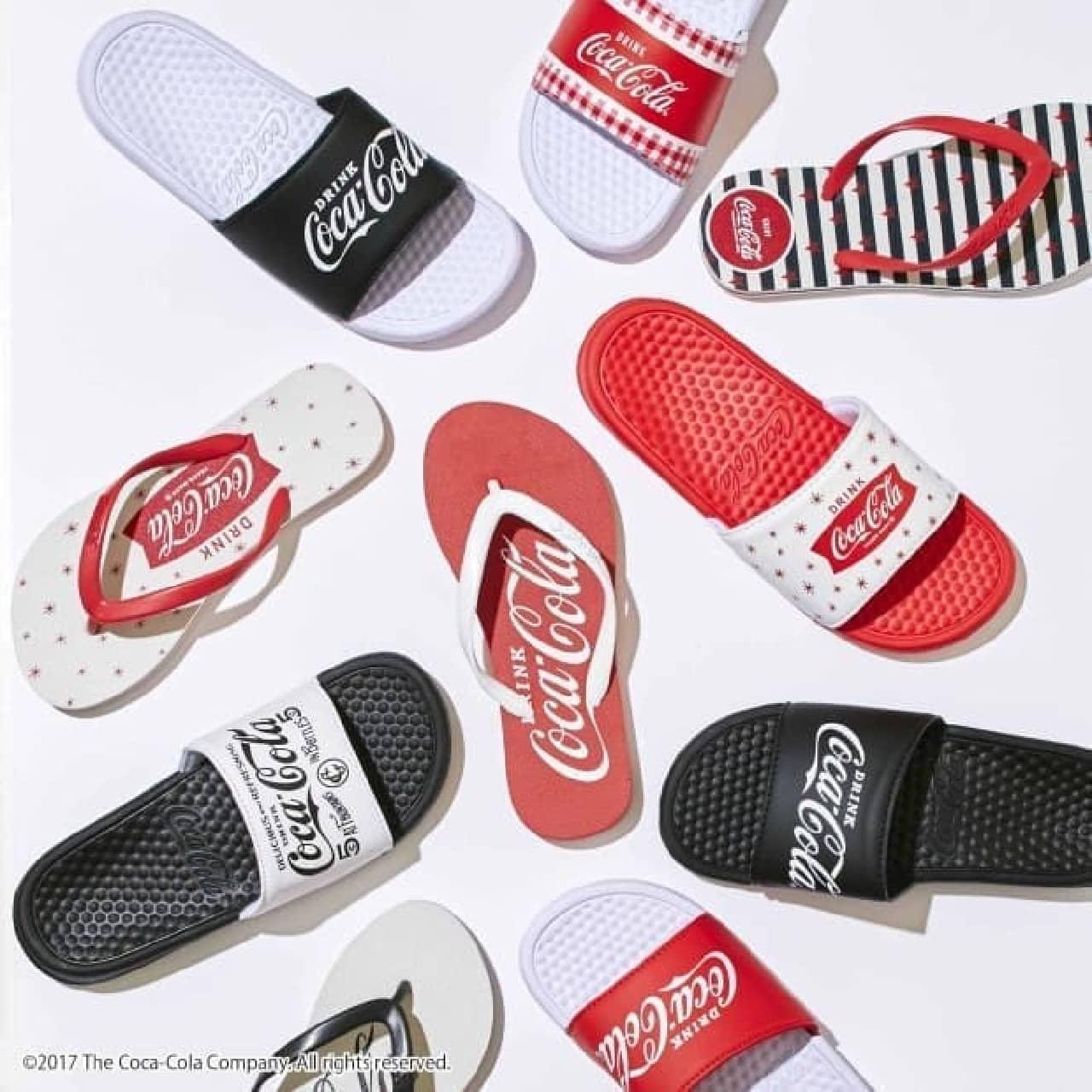 「コカ・コーラ」シャワーサンダル