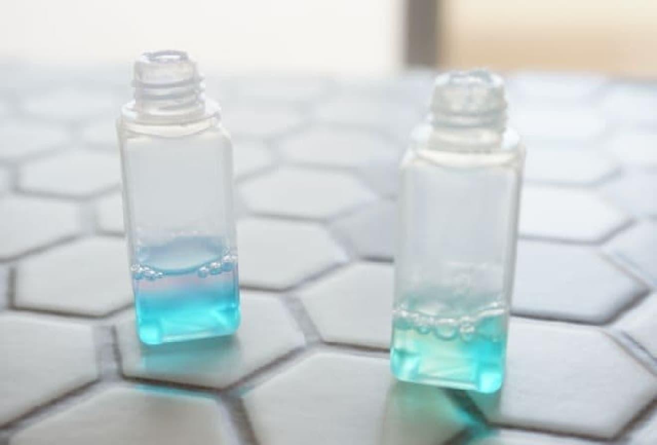 2種類の食器用洗剤「JOY(ジョイ)」を混ぜたボトル