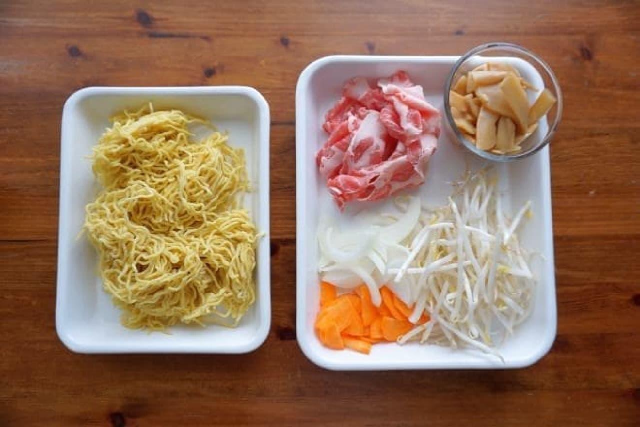 ベル食品「ラーメンスープ華味(しょうゆ)」のレシピ