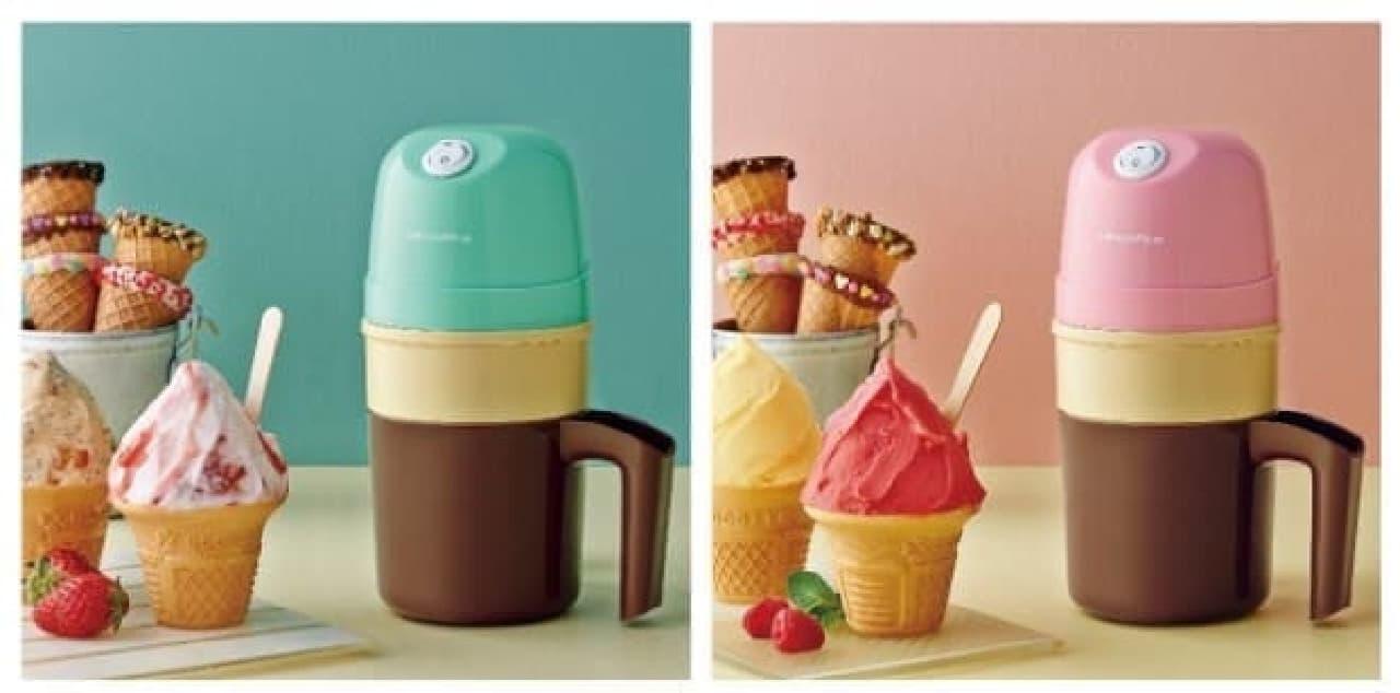 レコルト「アイスクリームメーカー」