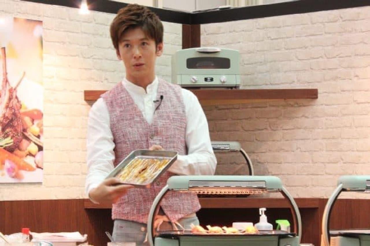 料理研究家の寺田真二郎さん