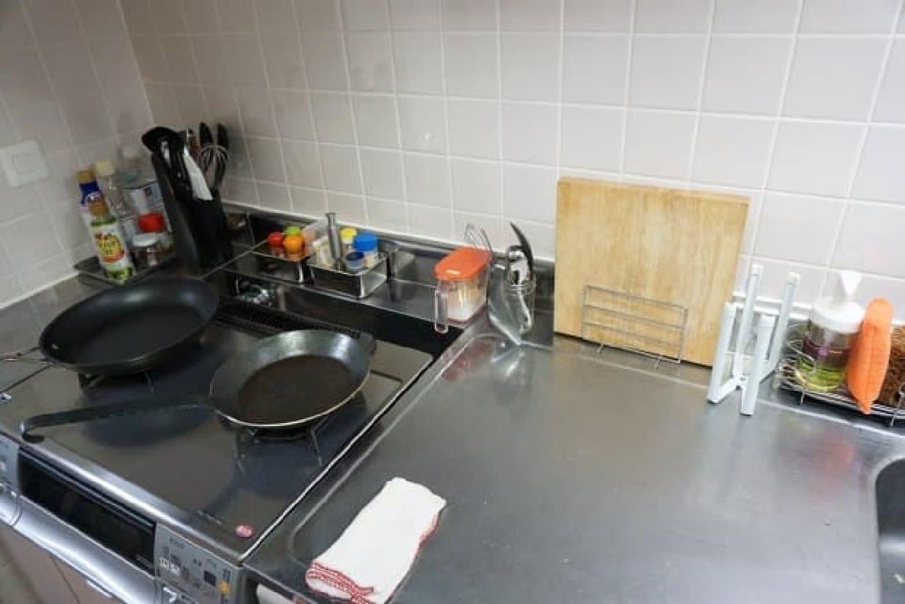 キッチン周りの画像