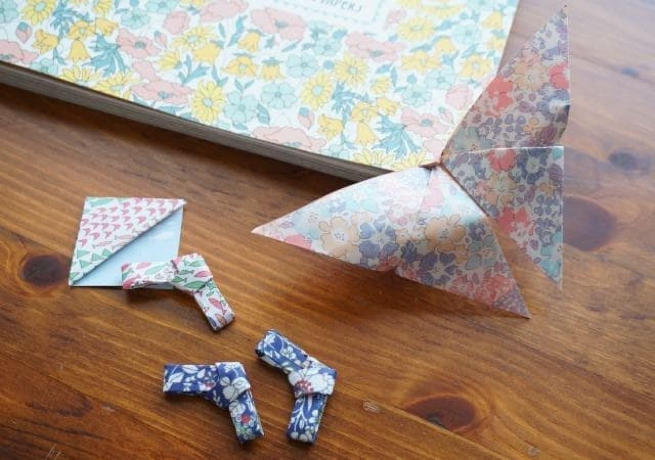 実用的な折り紙小物