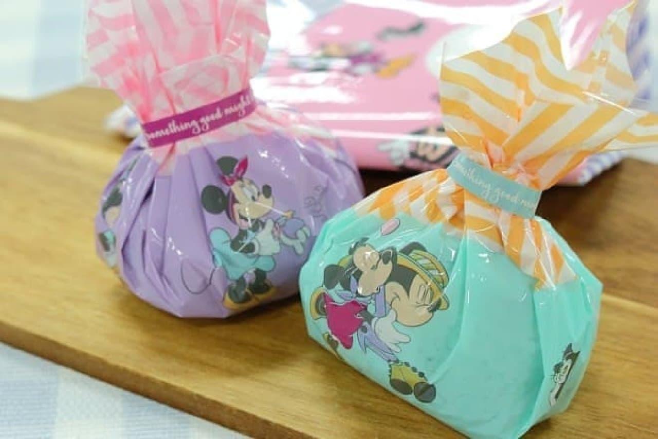 ミニーマウスをデザインしたPLAZAの「おにぎりラップ」