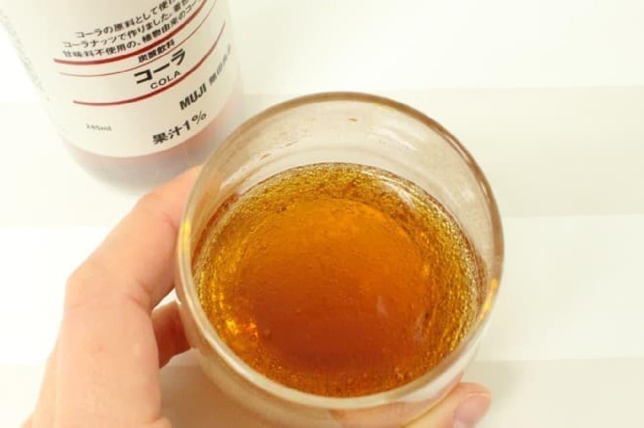 無印良品 炭酸飲料コーラ