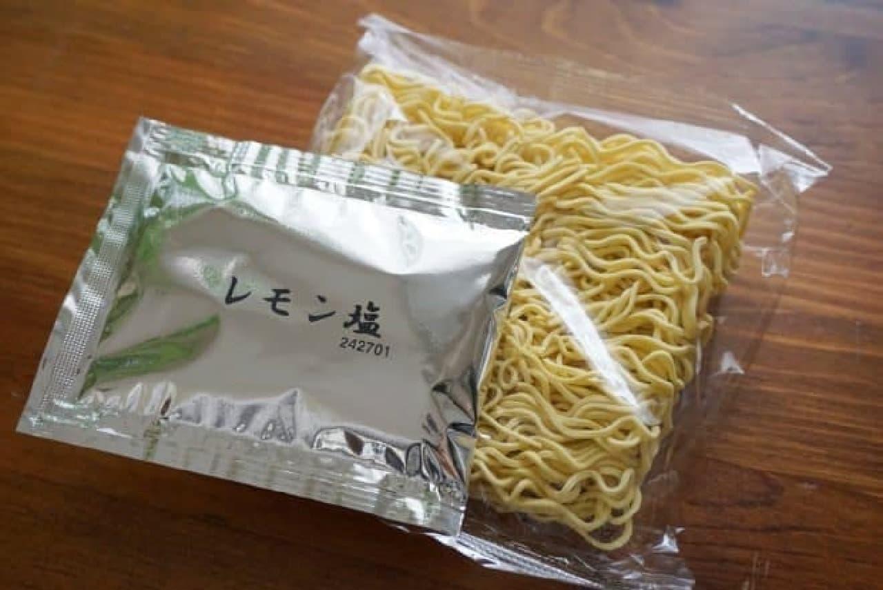 ダイソー「瀬戸内レモンラーメン」