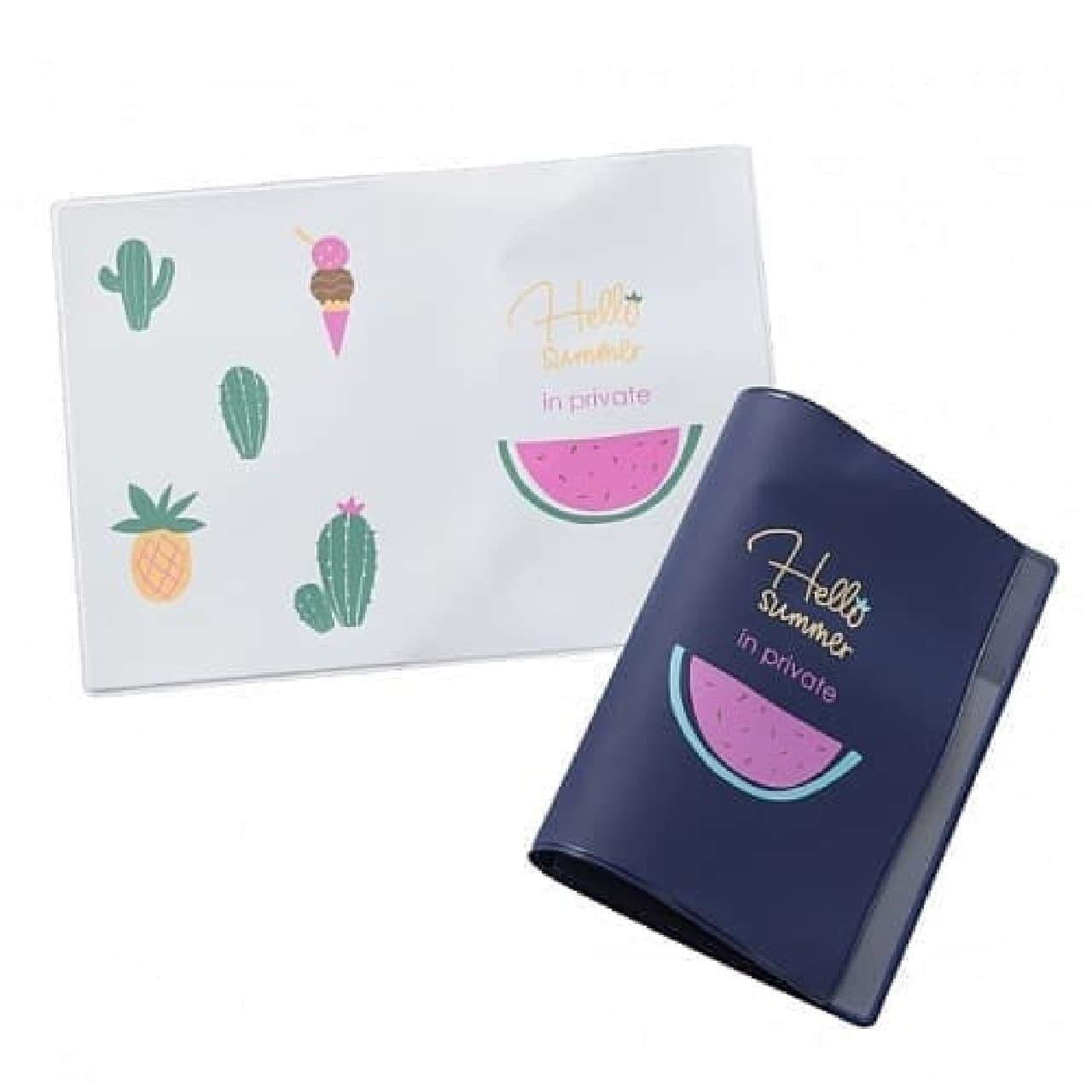 PLAZAのパスポートカバー