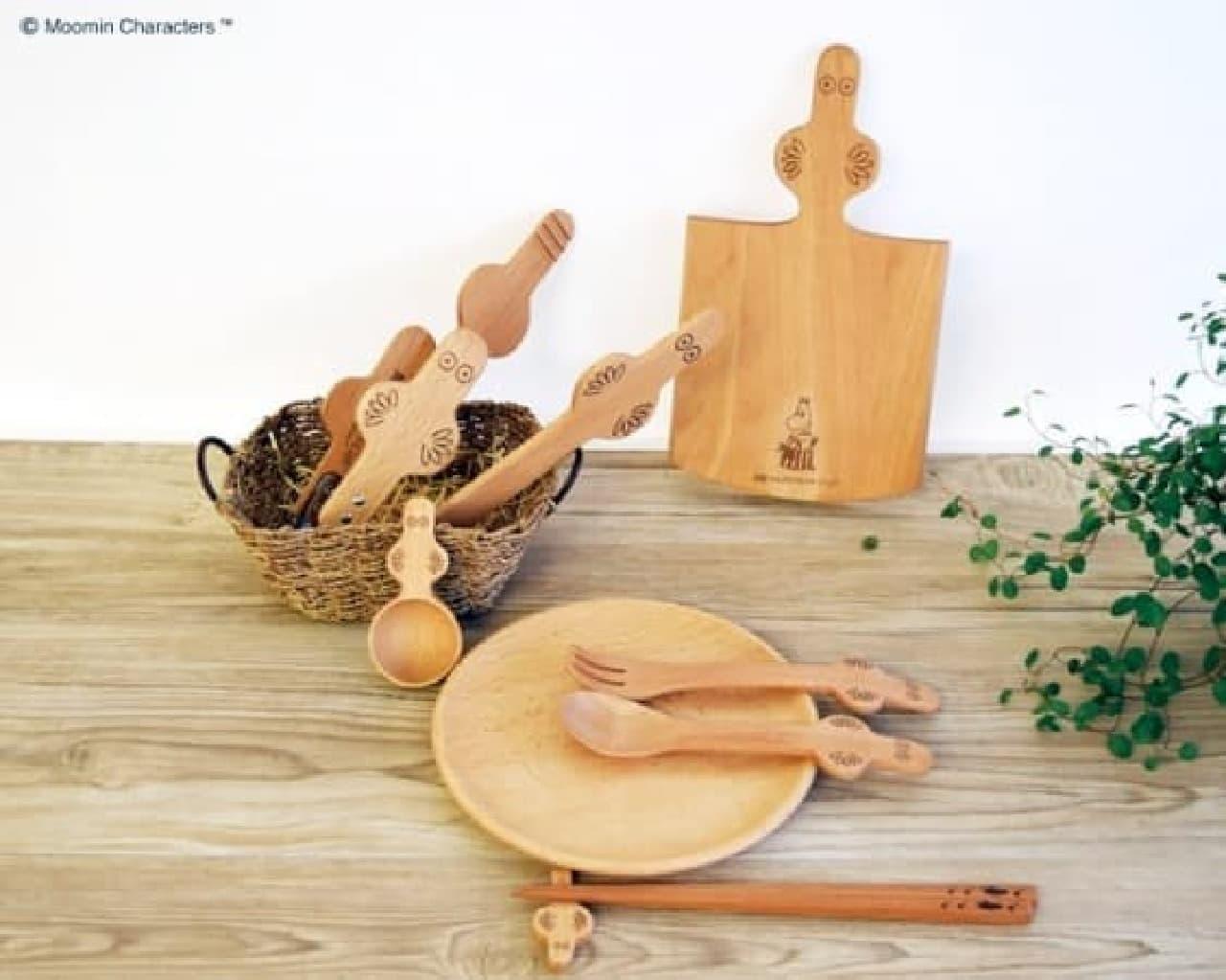 ニョロニョロのキッチンシリーズ