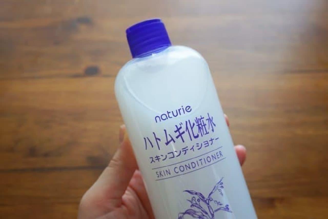 ナチュリエ「ハトムギ化粧水」