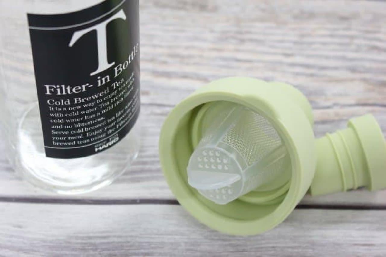 氷水出し緑茶の作り方