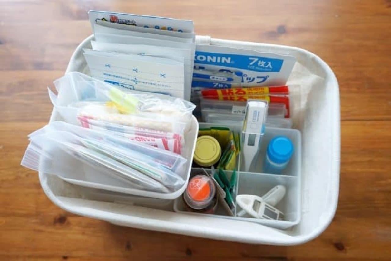 救急箱の整理収納