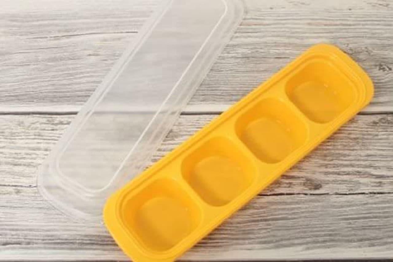 「冷凍おかずケース6号」は、残ったおかずをカップに小分けして冷凍保存しておけるおかずケース