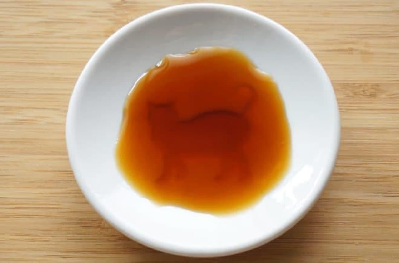 セリアのネコ柄醤油皿