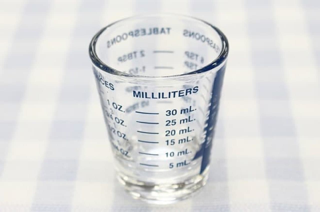 計量カップ「MINI MEASURE」
