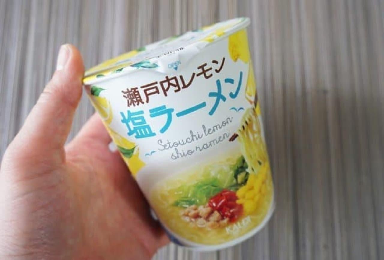 カルディの瀬戸内レモン塩ラーメン