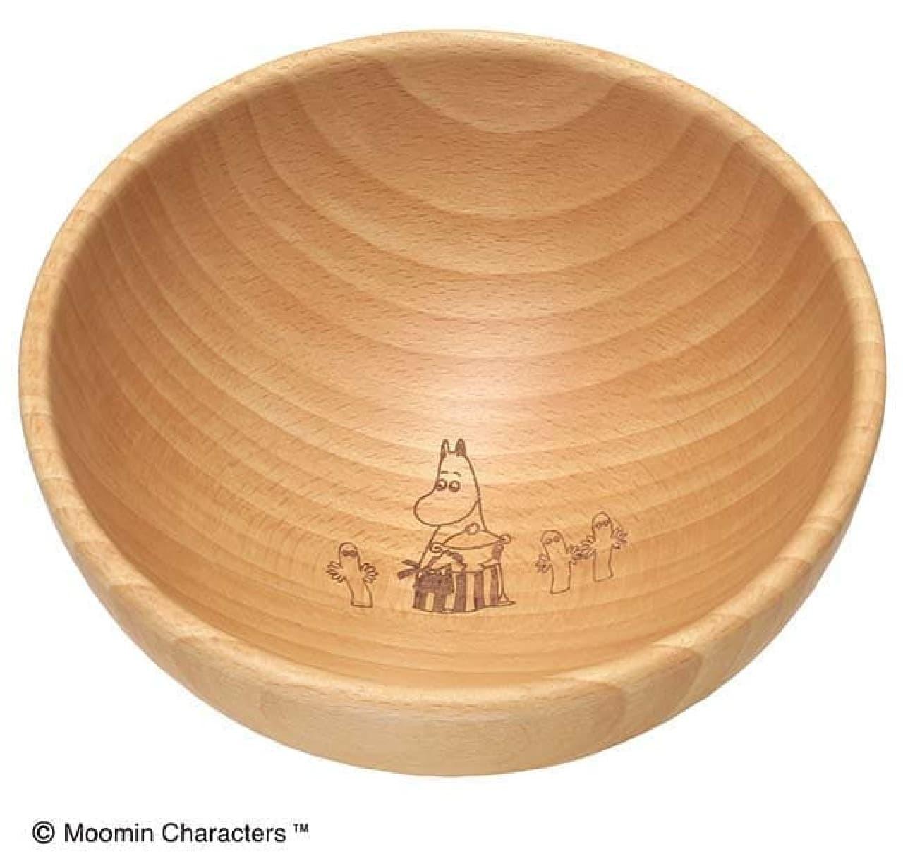 木製キッチンシリーズ ムーミンママ達のサラダボウル13