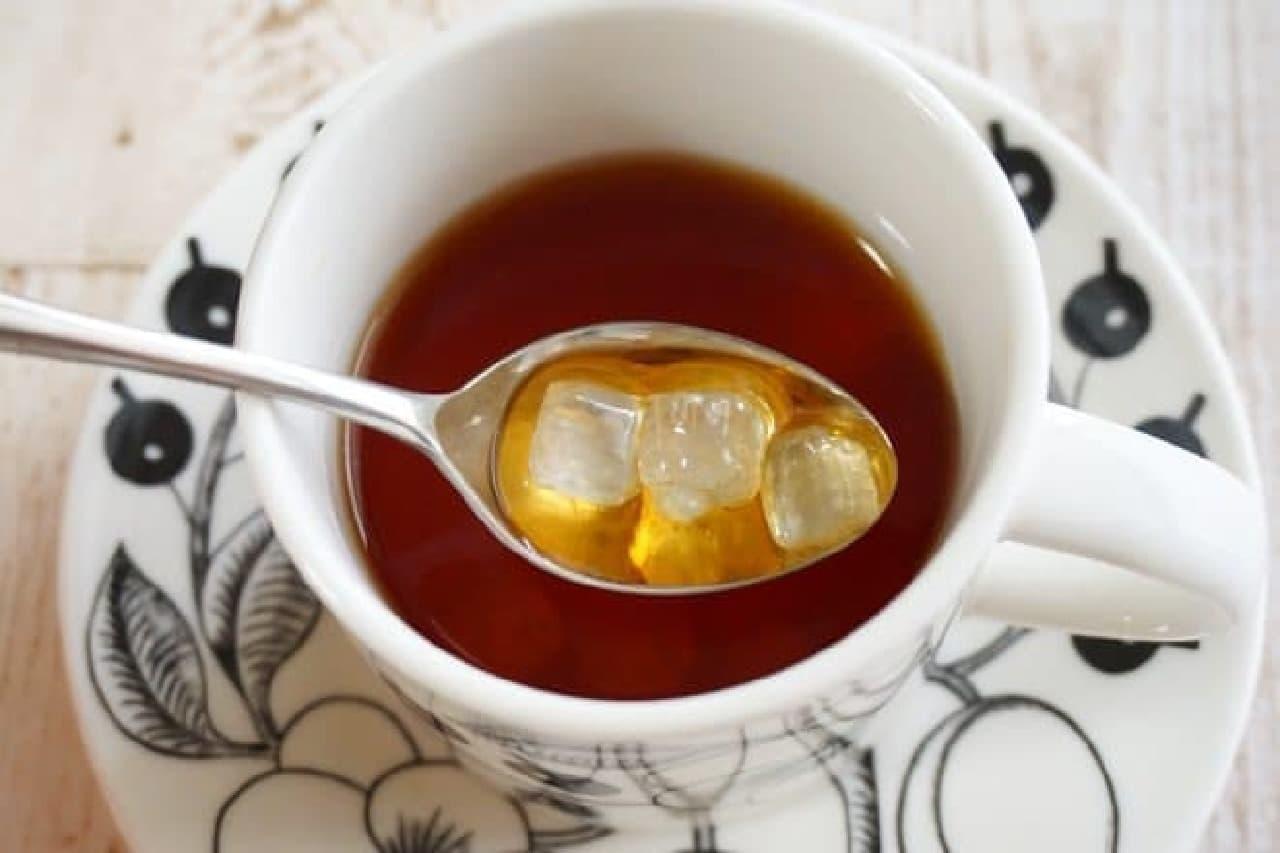 氷砂糖のシロップ漬け「キャンディス」