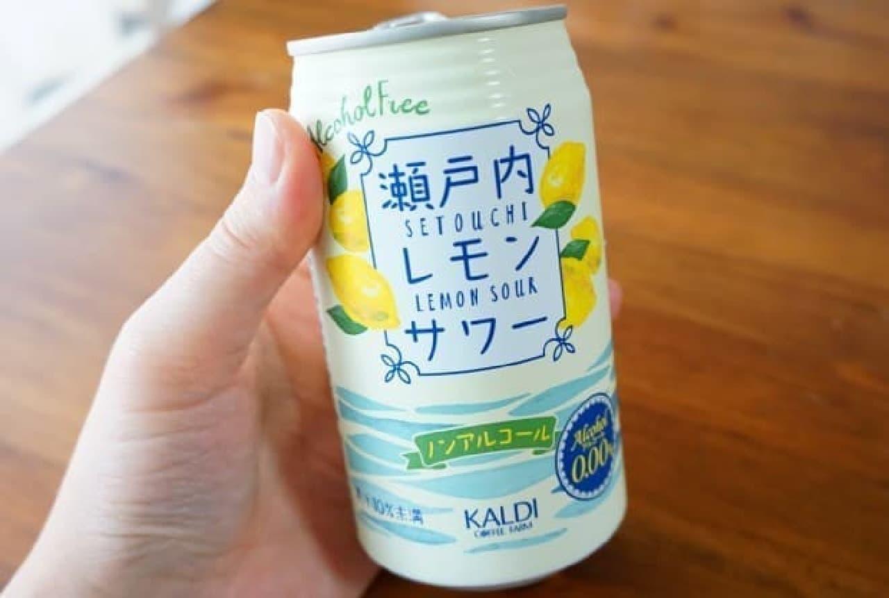 カルディの瀬戸内レモンサワー
