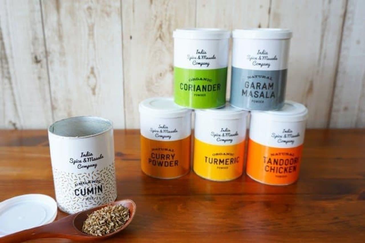 「India Spice&Masala Company」のカレースパイス