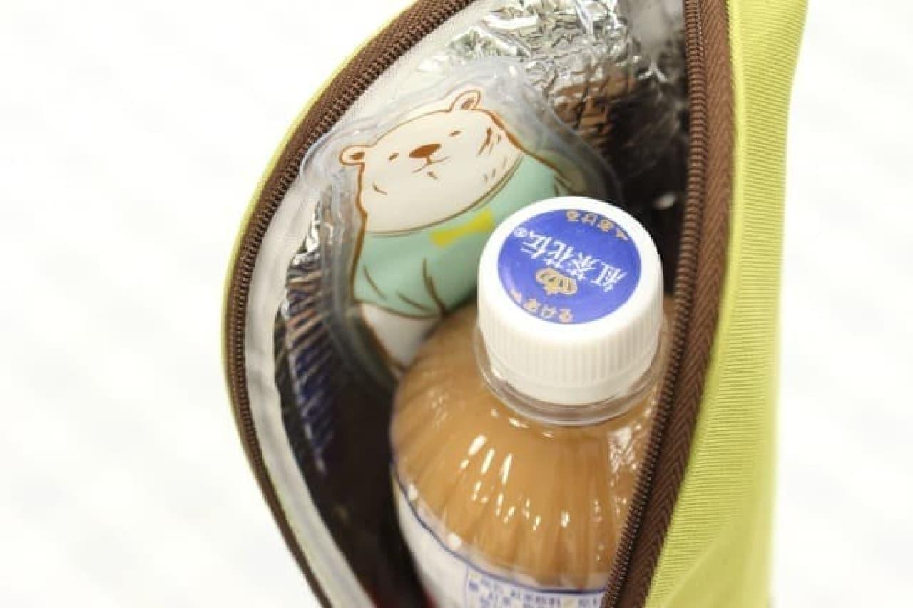 ダイソーのペットボトルホルダー用保冷剤