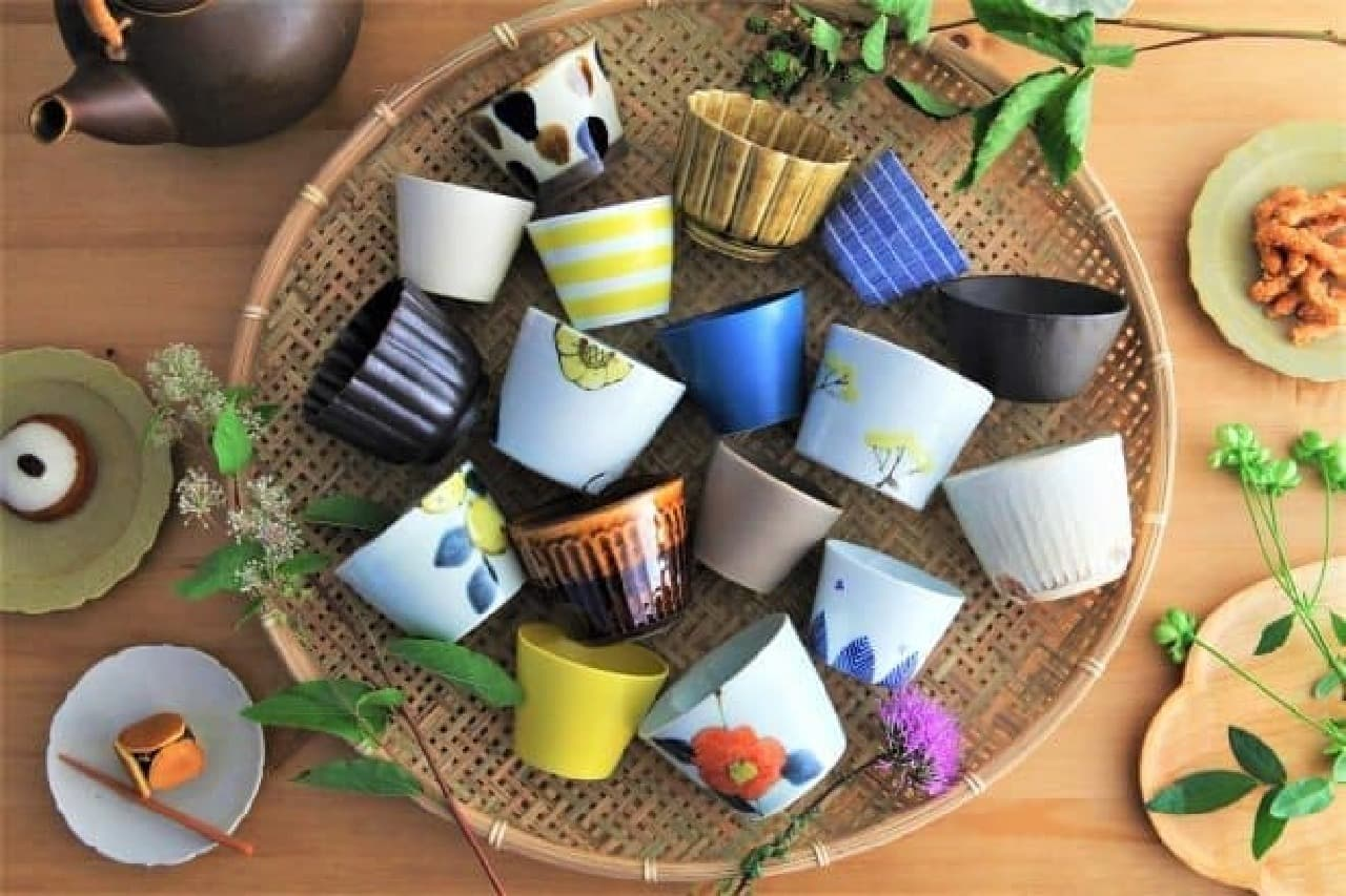 陶磁器を集めたポップアップショップ「angersの小さなうつわ市」