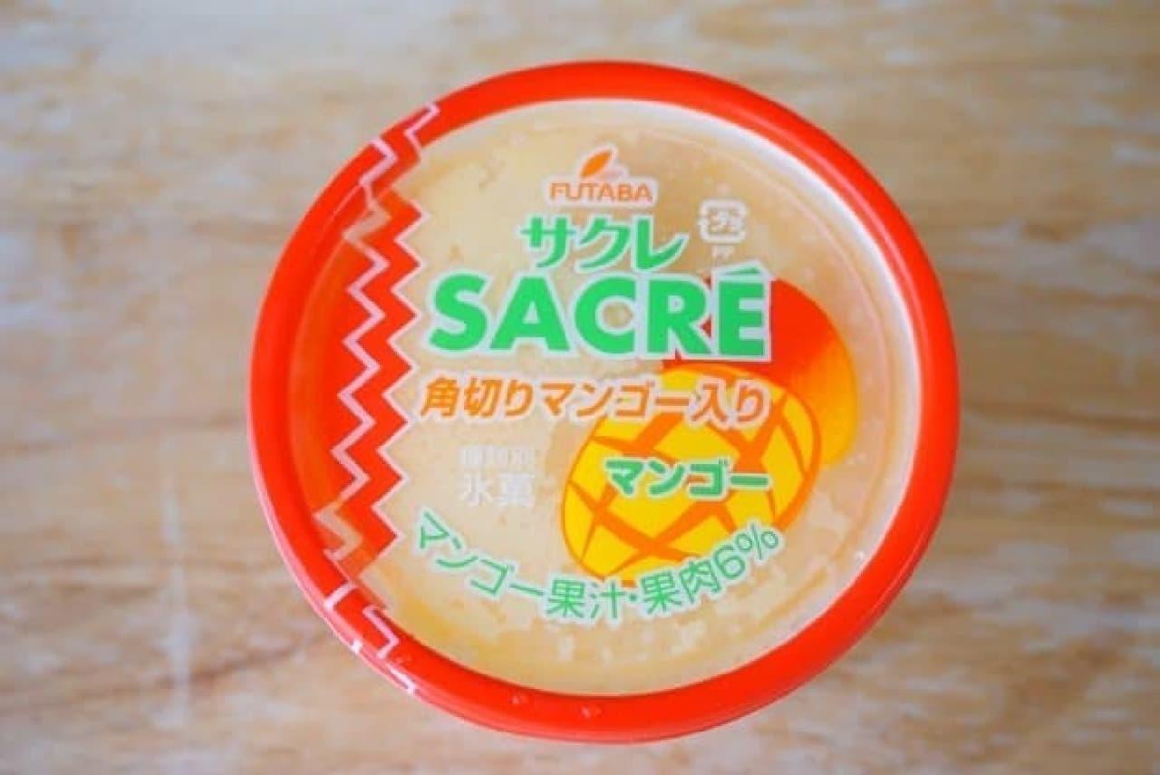 サクレマンゴー味のパッケージ